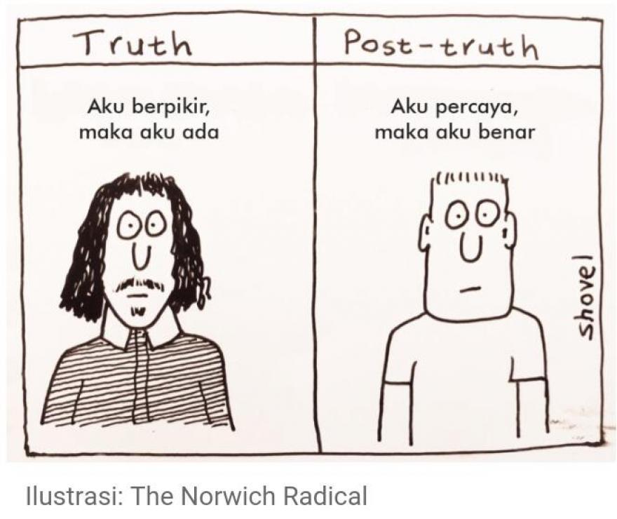 Image : WASPADALAH di Era Post Truth dan Hoax