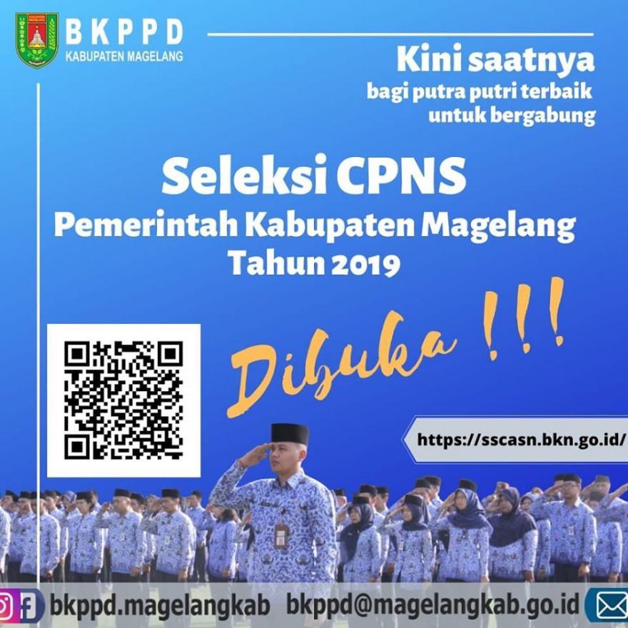 Image : Seleksi CPNS Kabupaten Magelang Tahun 2019